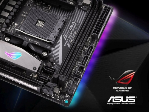 Asus shows off two new mini-ITX Ryzen motherboards