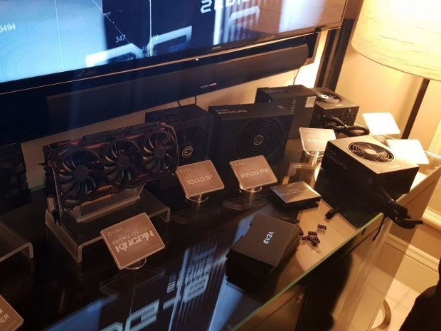 EVGA shows 2.2kW PSU at the CES 2018 show